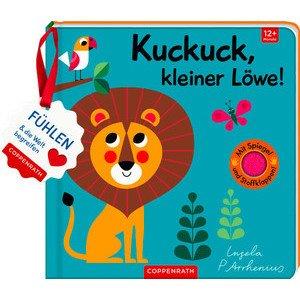 Mein Filz Fühlbuch Kuckuck, kleiner Löwe! Coppenrath