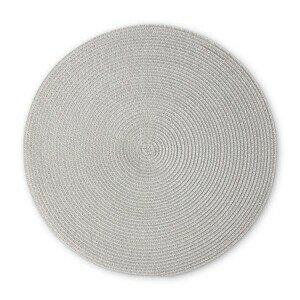 Tischset 38 cm hellgrau Continenta