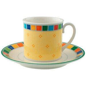 Kaffee-/Teetasse m.U.2tlg Twist Alea Limone Villeroy & Boch