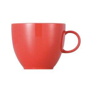Kaffeeobertasse 200 ml rund Sunny Day New Red new red Thomas