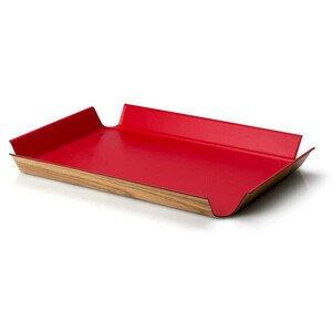 Tablett rutschfest 41x29,5 cm rot Continenta