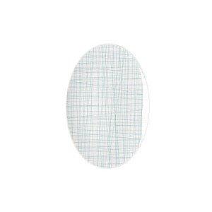 Platte 25 cm Mesh Line Aqua Rosenthal