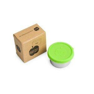 Lunchbox mini grün Durchmesser 6,5cm x 3,5cm Brotzeit