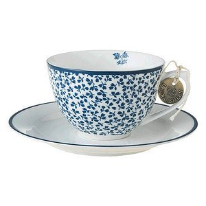 Cappuccino Tasse m. U. Floris Laura Ashley