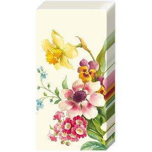 Papiertaschentücher Welcome Spring cream IHR
