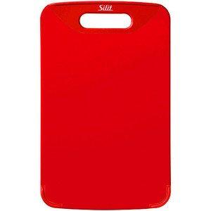 Schneidebrett 32x20cm Rot Silit