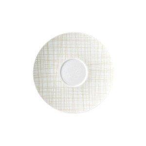 Suppen-Untertasse Mesh Line Cream Rosenthal