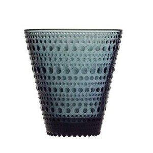 Trinkglas 30cl Kastehelmi dark grey iittala