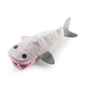 Federmäppchen grau/rosa Hello Whale Donkey