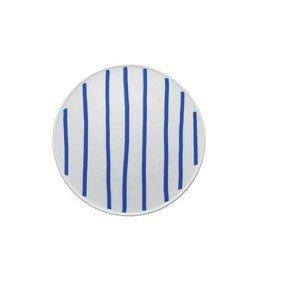 Teller flach 27 cm ONO friends blue Lines Thomas
