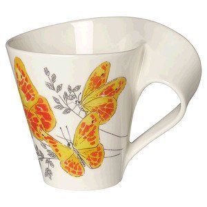 Becher m. Henkel 0,3l GK NewWave Cafe Orange washed sulphur Villeroy & Boch