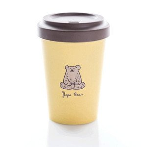 Bamboo Cup Yoga Bear chic mic