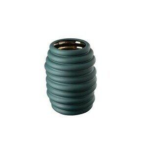 Vase 26 cm Hop green - gold Rosenthal