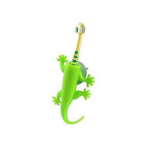 Zahnbürstenhalter grün Larry the Lizard J-me original design