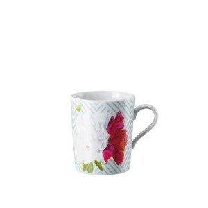 Becher mit Henkel Tric Vivid Bloom Celadon floral Arzberg