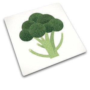 Schneidplatte Brokoli Glas 30 x 30 cm Joseph Joseph