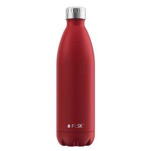 Isolierflasche 1l rot lackiert FLSK