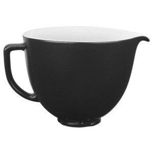 Keramikschüssel 4,83l matt schwarz KitchenAid