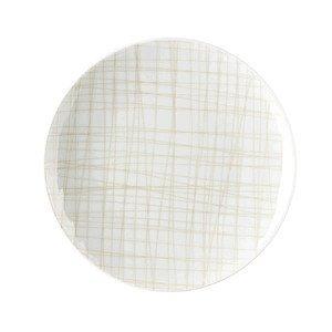 Teller flach 15 cm Mesh Line Cream Rosenthal