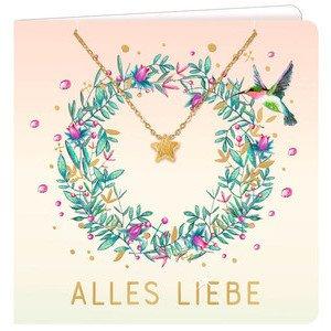Armband mit Grußkarte Alles Liebe Coppenrath