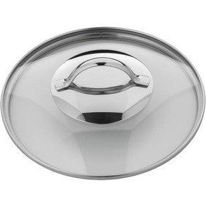 Glasdeckel 20 cm mit Metallgriff WMF