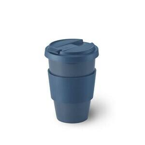 Porzellanbecher Coffee-To-Go 0,35 l Solid Color indigo Dibbern