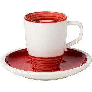 Mokka-/Espressotasse 2tlg. Manufacture rouge Villeroy & Boch