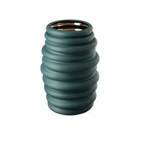 Vase 36 cm Hop green - gold Rosenthal