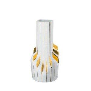 Vase 40 cm Strip White-Gold Rosenthal