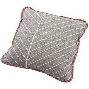 Kissen 50 x 50 cm Blätter/Linien Räder