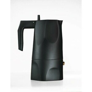 Espressokocher 3 Tassen Ossidiana schwarz Alessi