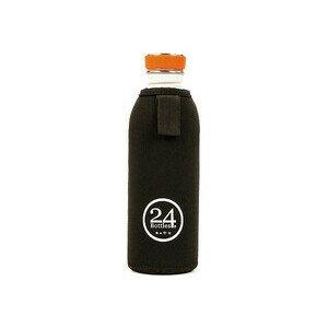 Flaschenhülle für 0,5 l 24Bottles schwarz 24bottles