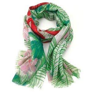Schal 105x180cm Aloha grün Lizas