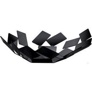 Schale 24,5 x 23,2 cm schwarz Stanza dello Scirocco Alessi