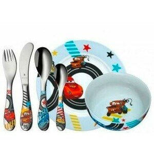 Kinder Set 6 teilig Disney Cars 2 WMF