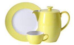 Solid Color Zitrone (Porzellan)