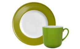 Solid Color Oliv (Porzellan)
