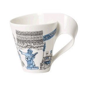 Becher m. Henkel 0,3 l Stockho Cities of the World Mug Villeroy & Boch