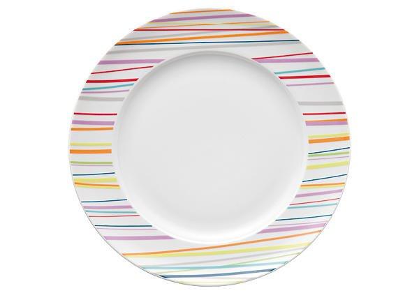 Speiseteller 27 cm Sunny Day Sunny Stripes bunt | Küche und Esszimmer > Besteck und Geschirr > Geschirr | Thomas
