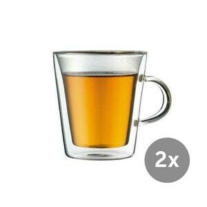 Thermo-Glas 2er-Set 0,2 l Canteen Bodum