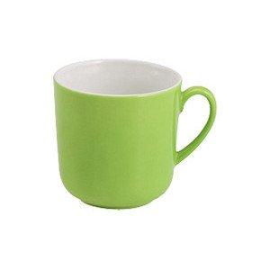 """Becher mit Henkel 320 ml """"Solid Color Maigrün"""" rund Dibbern"""