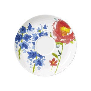"Frühstücks-Untertasse ""Anmut Flowers"" Villeroy & Boch"