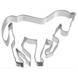 Ausstecher Edelstahl Pferd in Piaffe 10cm RBV Birkmann