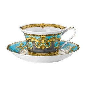 """Teetasse mit Untertasse 2-tlg. 220 ml """"Prestige Gala Le Bleu"""" Versace"""