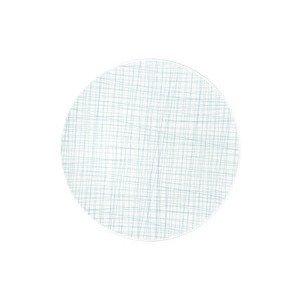 Teller flach 30 cm Mesh Line Aqua Rosenthal