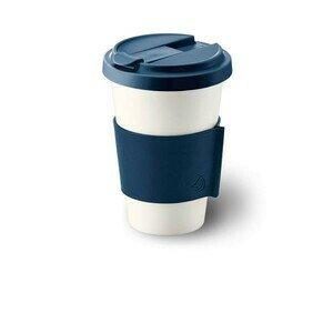 Coffee to go Becher marine konisch-zylindrisch Dibbern