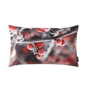 Kissen Frosty grau/rot Proflax