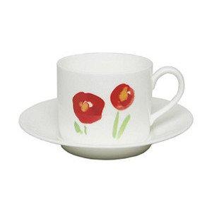 "Kaffee-Obertasse 250 ml ""Impression Mohn"" zylindrisch Dibbern"