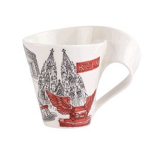 Becher m. Henkel 0,3 l Köln 2 Cities of the World Mug Villeroy & Boch