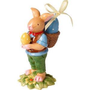 Hasenjunge mit Korb 9 cm Bunny Family Villeroy & Boch
